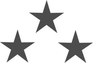 3 stars png. Decorative clipart images gallery