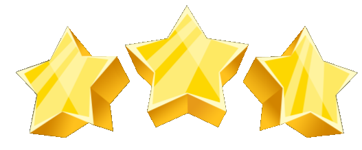 star image. 3 stars png picture black and white stock