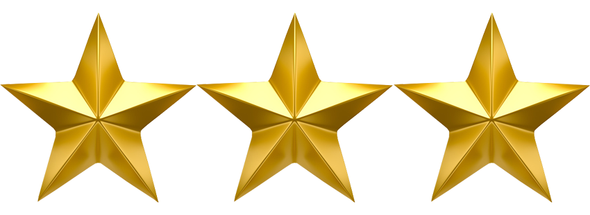 3 stars png. Get star security with