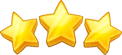 3 star clash of clans png. Image stars peggle wiki