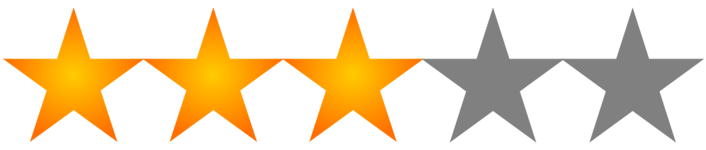 5 stars transparent png