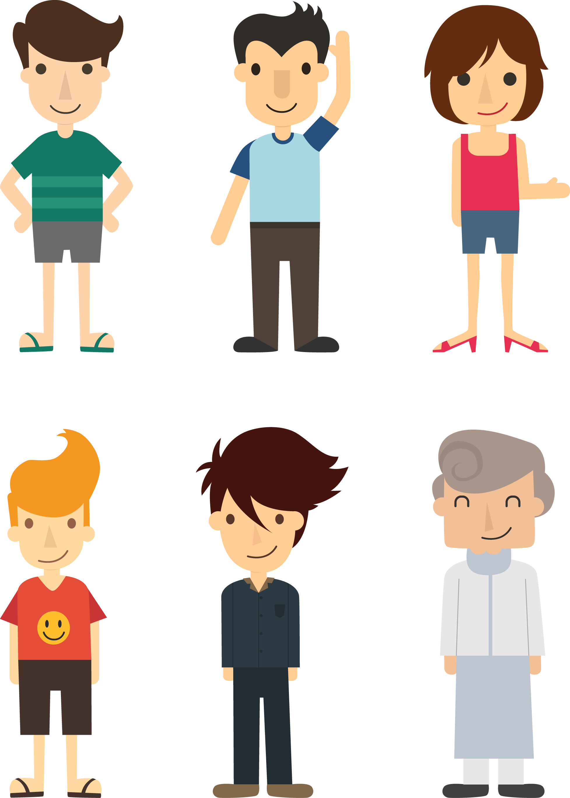 Communication vector flat design. Cartoon illustration people rar