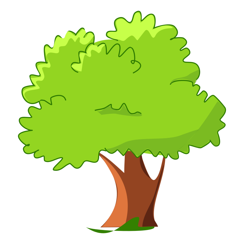3 vector park tree. Spring clipart at getdrawings