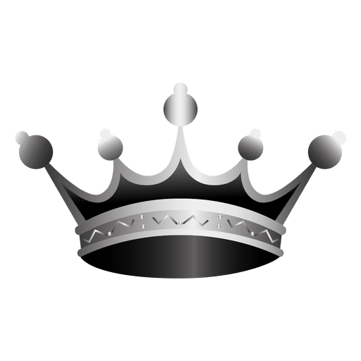 3 vector realistic. Crown icon illustration transparent