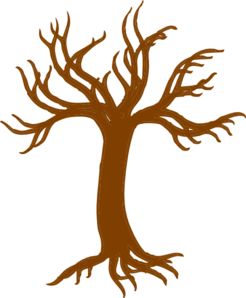 3 vector root tree. Roots larger clip art