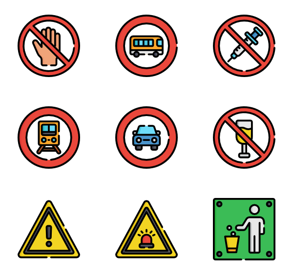 Stop vector png. Sign icon packs