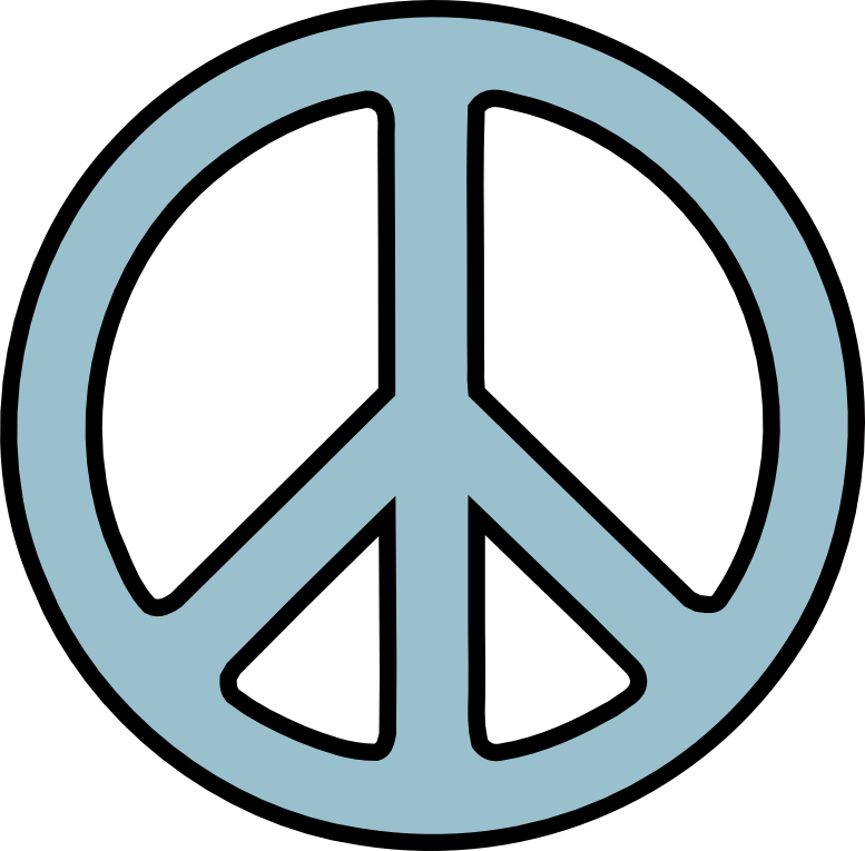 Sign svg peace. Scalable vector graphics peacesymbol
