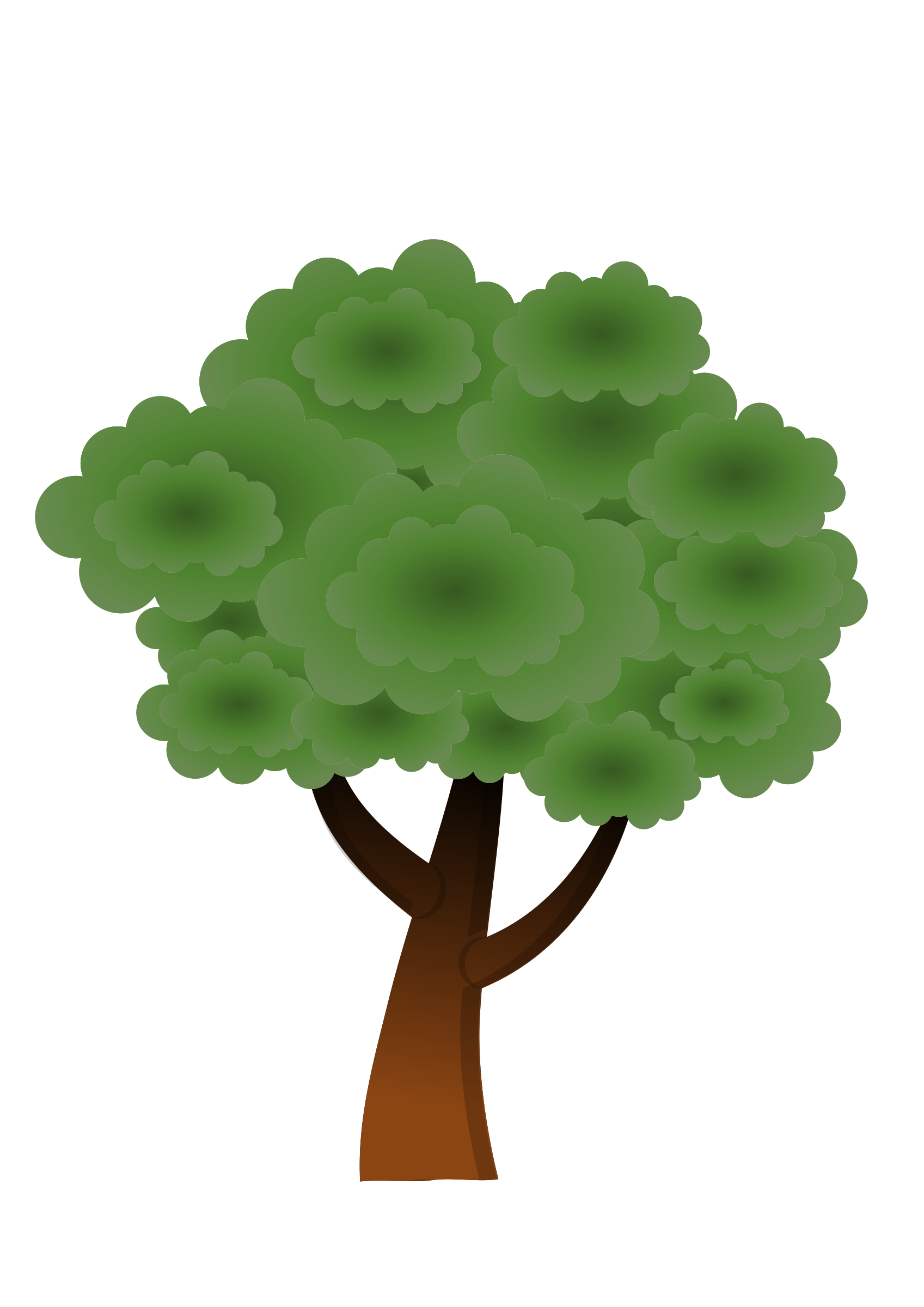 3 vector tree. A simple icons png