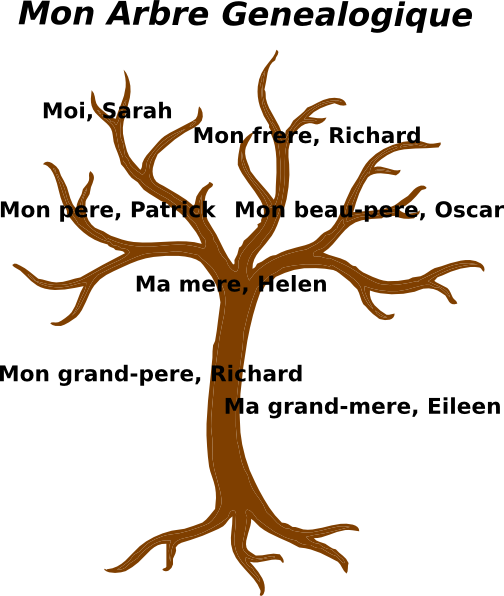 3 vector tree line. Clipart family huge