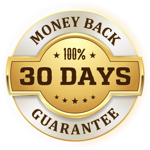 30 day money back guarantee png. Transparent background preston