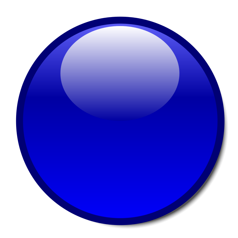 3d circle png. File blue sphere svg