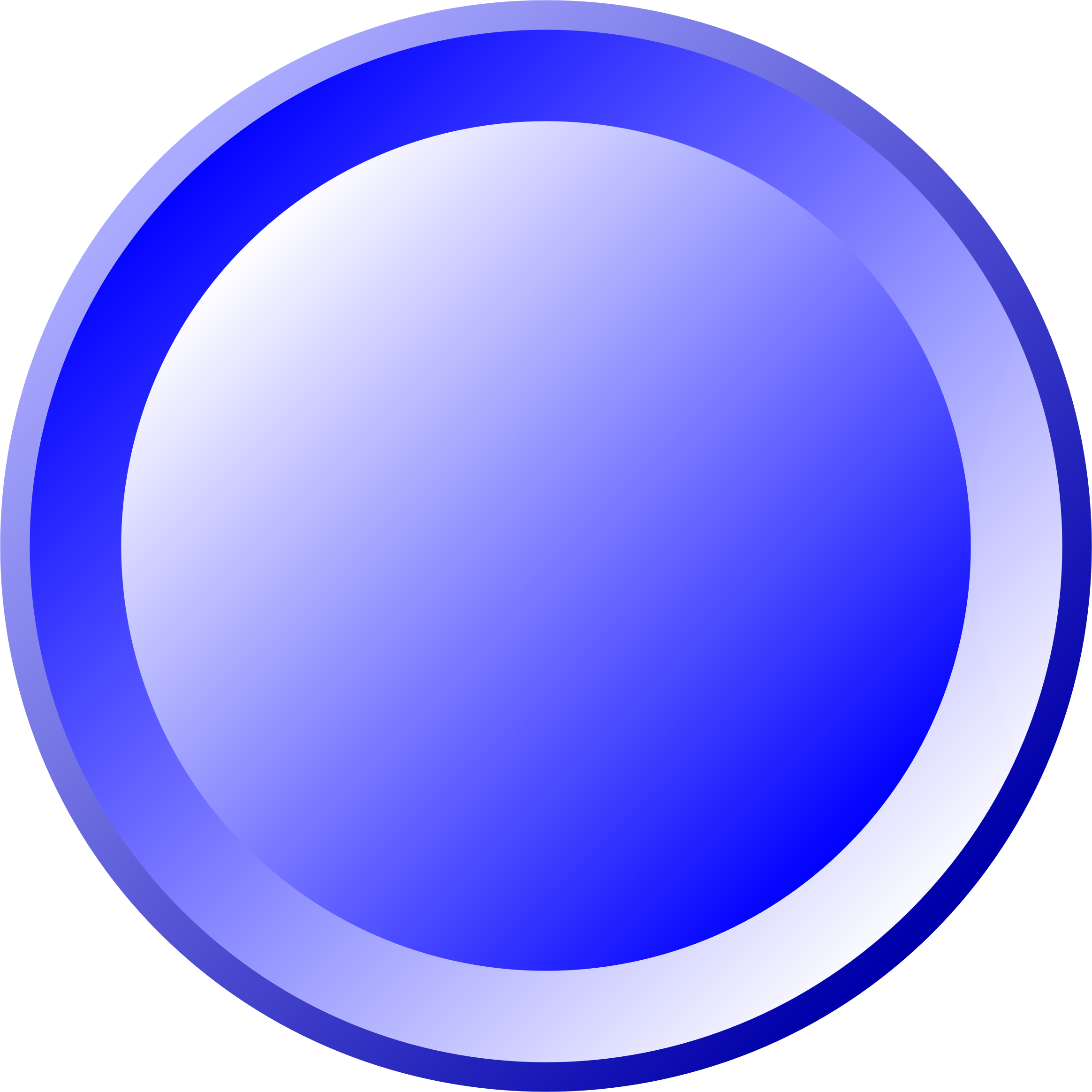Blue clip art round. 3d circle png svg black and white library