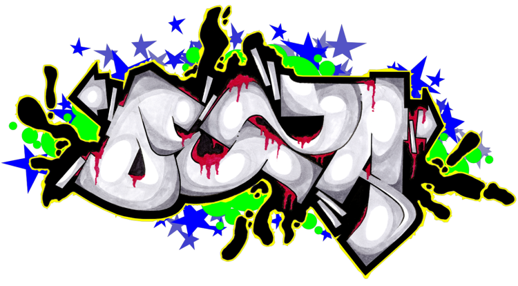 hd drawing graffito