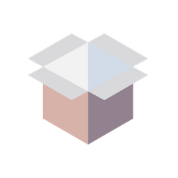 3d grid png. Free box parcel delivery