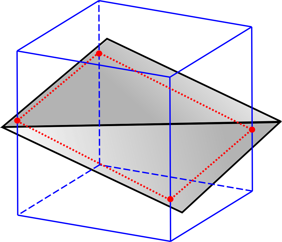3d grid png. Finding the intersection of