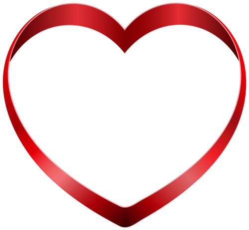 Free images download. 3d heart png banner