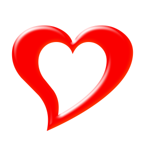 3d heart png. D download