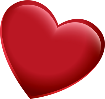 3d heart png. D red pic
