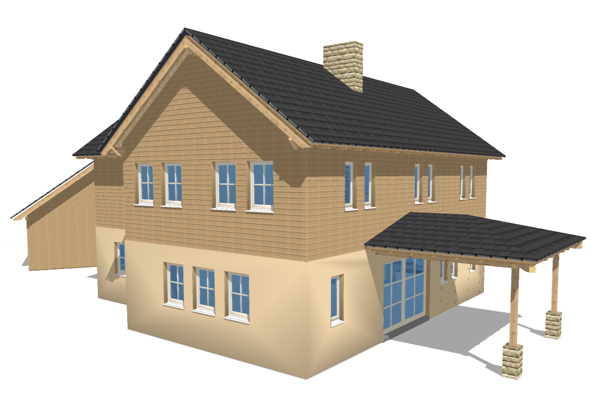 3d home png. House building d computer