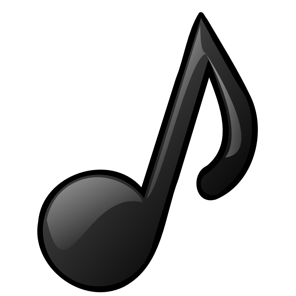 3d music note png. Hd musical notes symbols