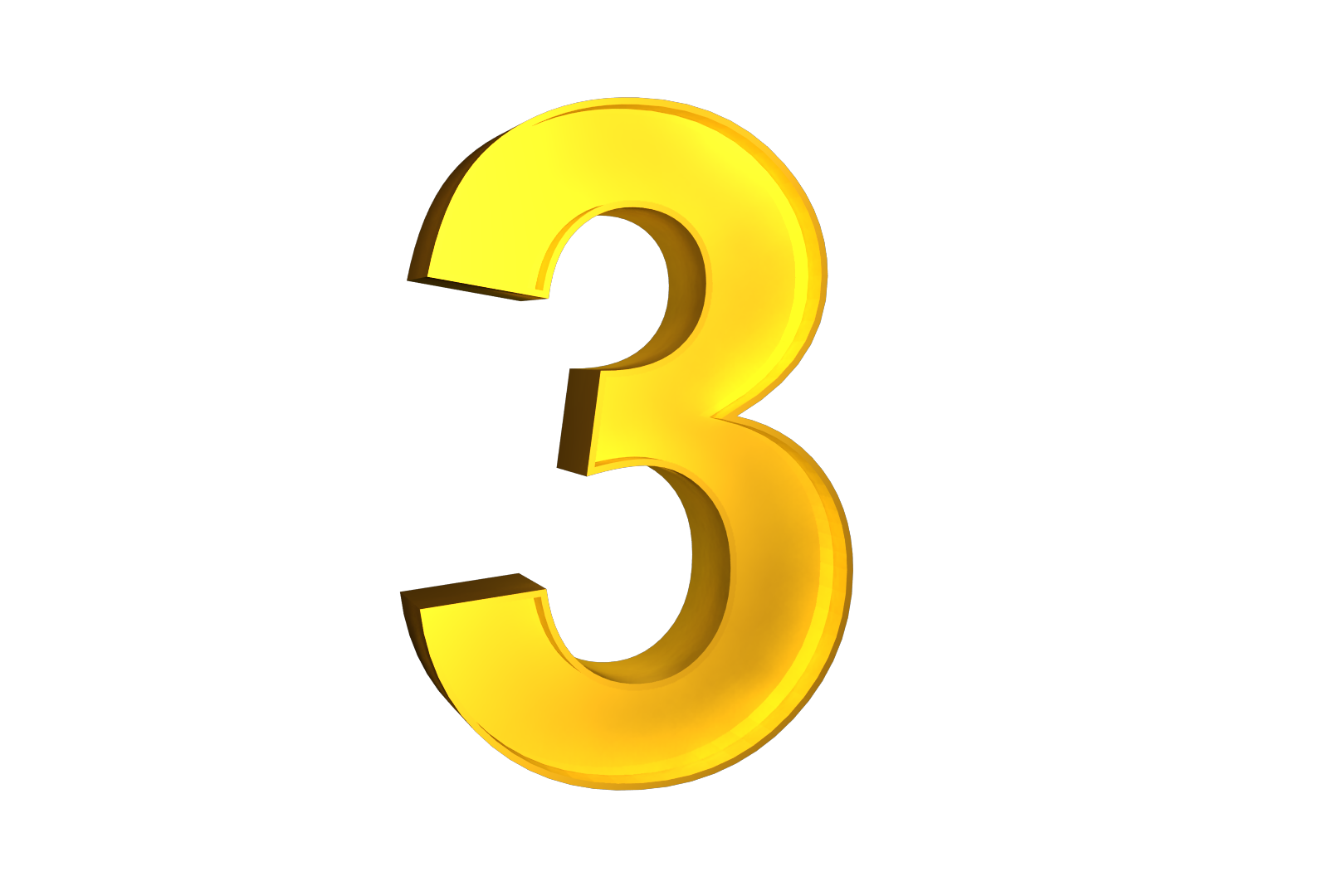 3d numbers png. Number images free download