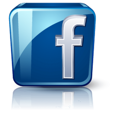 Facebook logo d free. 3d png effect picture freeuse library