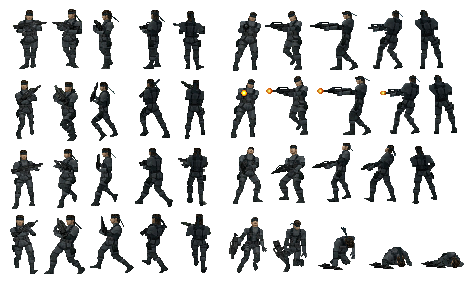 3d soldier sprite sheet png. Share your sprites page