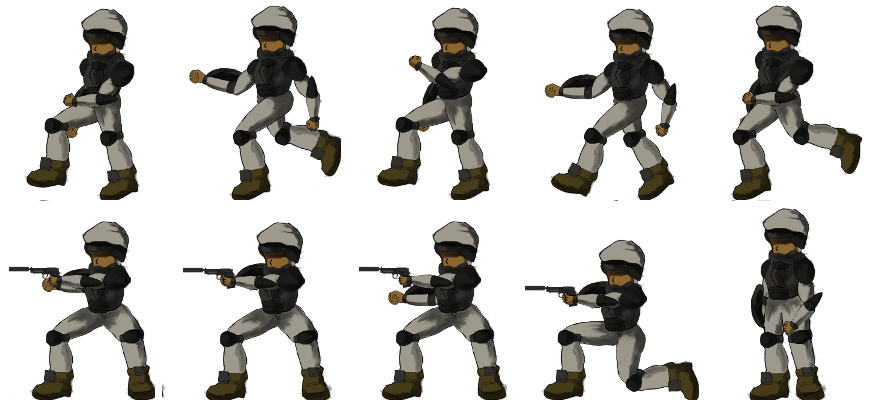 3d soldier sprite sheet png. Hoalw opengameart org preview