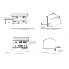 Survey drawing cad. House designs ds max