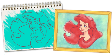 3ds drawing art academy. Share artwork disney for