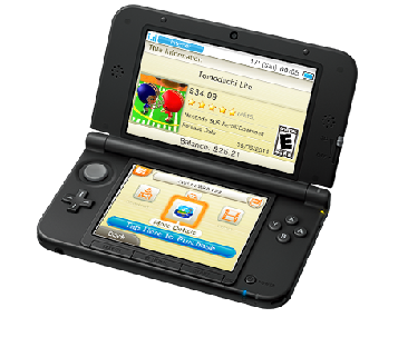 D transparent nintendo 3ds