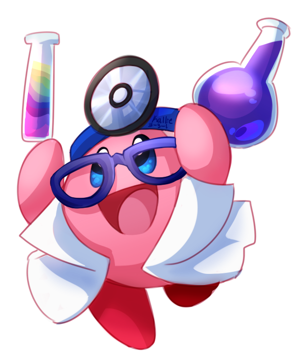 3ds drawing kawaii iphone. Doctor kirby from the