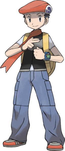 3ds drawing lucas. File diamond pearl png