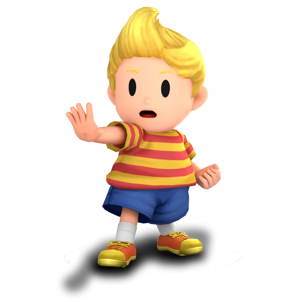 3ds Drawing Lucas Transparent & PNG Clipart Free Download - YA-webdesign