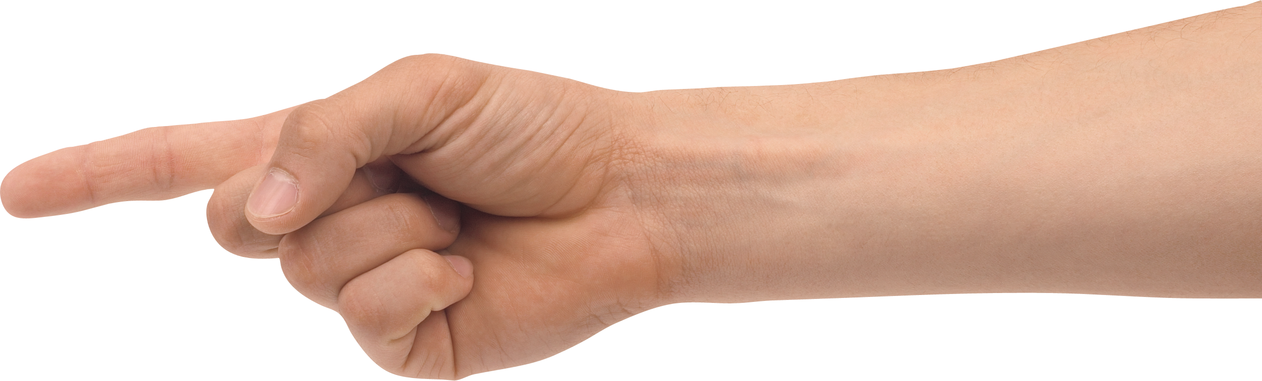 Human arms png. One finger hand image