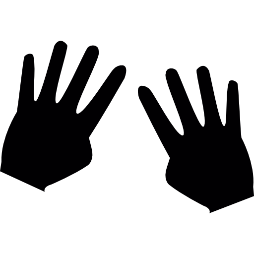 4 fingers png. Number eight with free