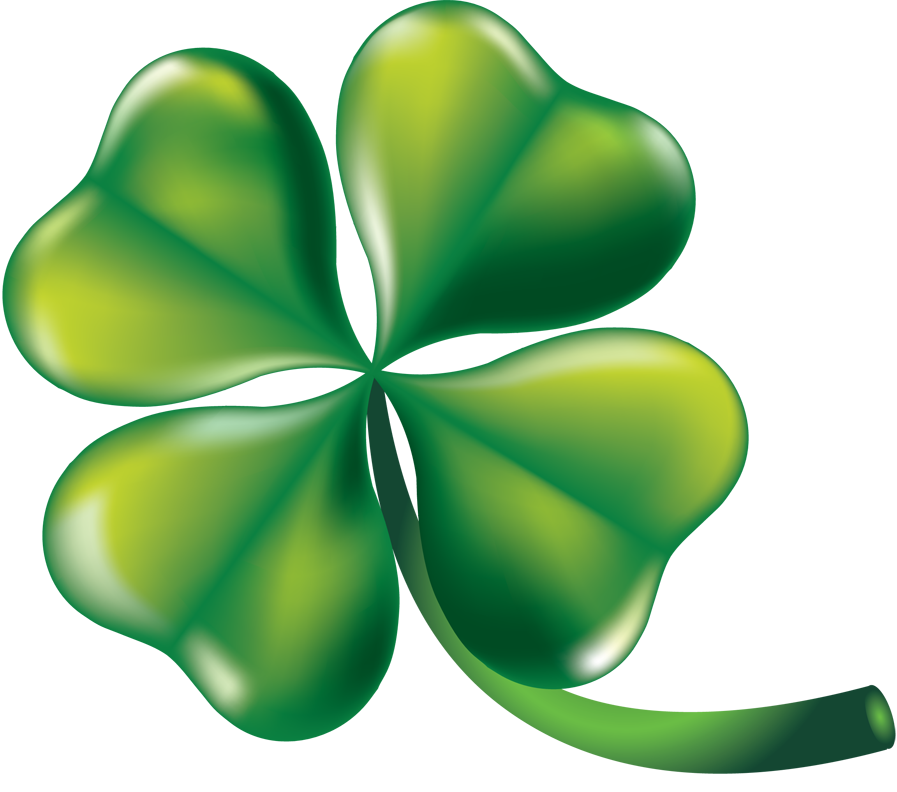 4 leaf clovers png. Collection of four