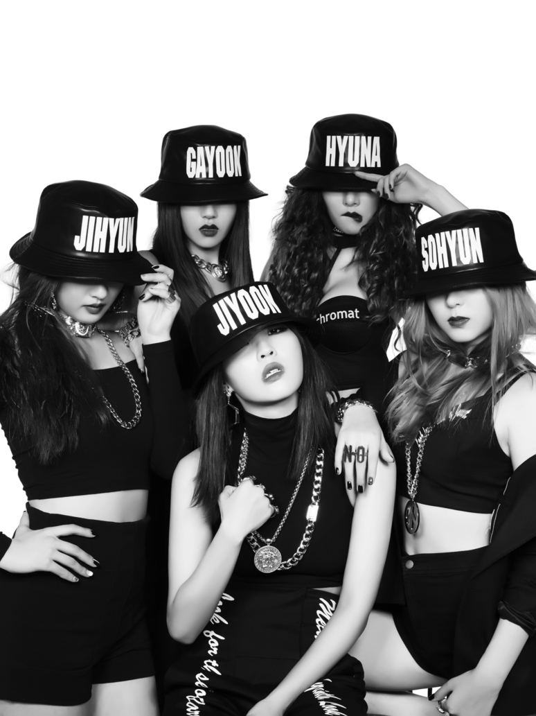 4 minute png. Crazy by hyukhee on