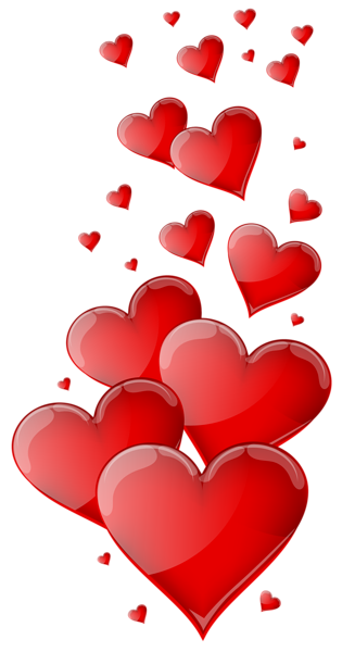 4 of hearts png. Red clipart image cliparts