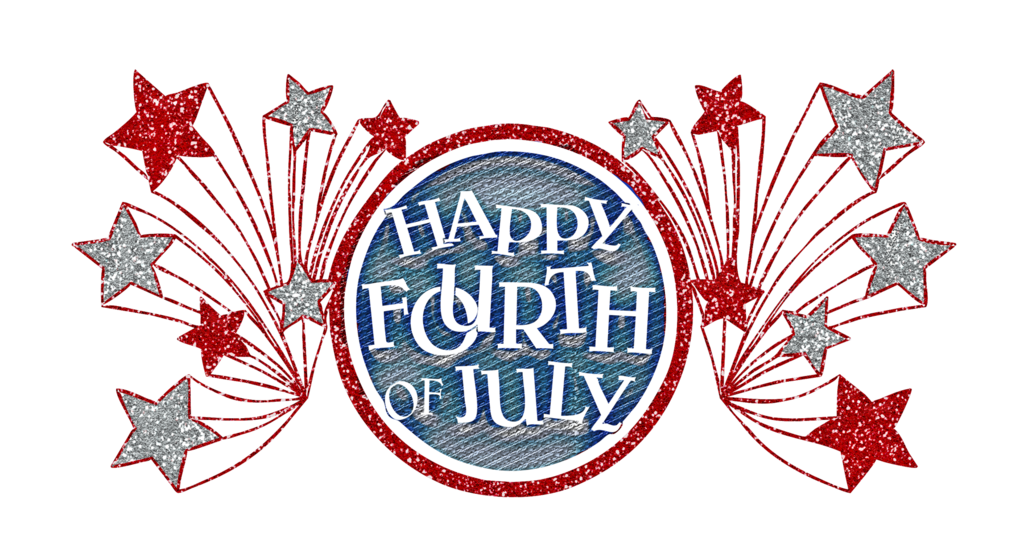 4 of july png. Happy fourth clipart at
