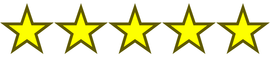 image. 5 out of 5 stars png svg library stock