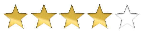 4 out of 5 stars png. Image