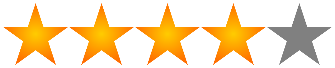 five stars png