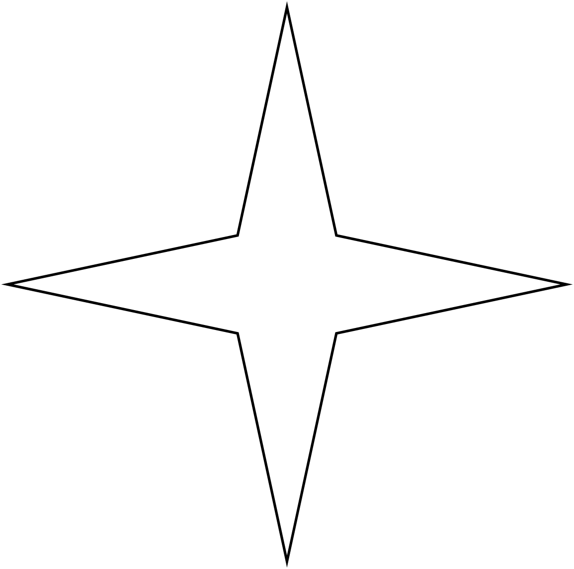 File point star wikimedia. 4 stars png image black and white download