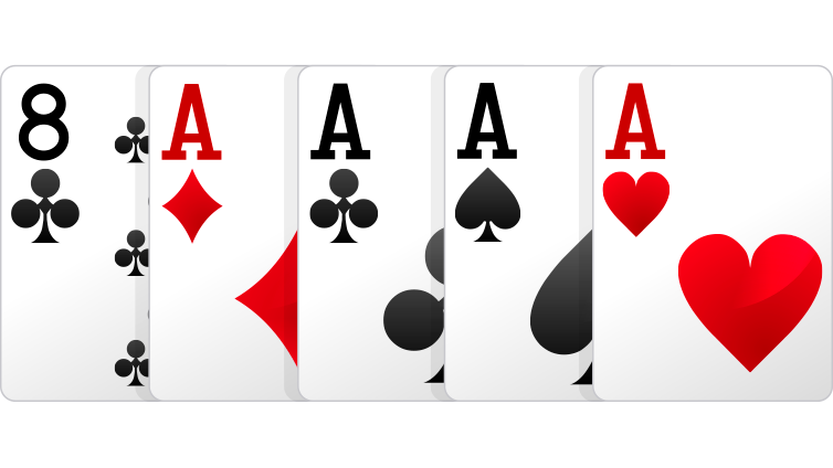 4 queen playing cards png. Poker hands order hand