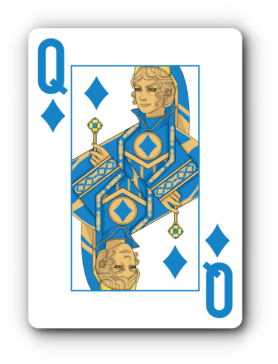 4 queen playing cards png. Run it up launches