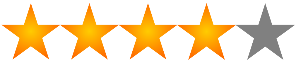 4 star png. File rating of wikimedia