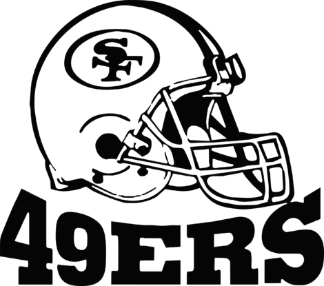 49ers Drawing Sign Transparent Clipart Free Download