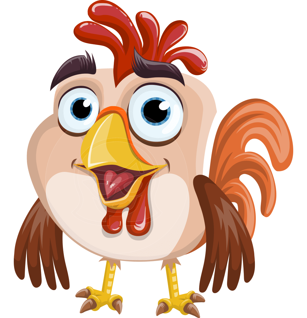 49ers drawing animated. A perky rooster vector