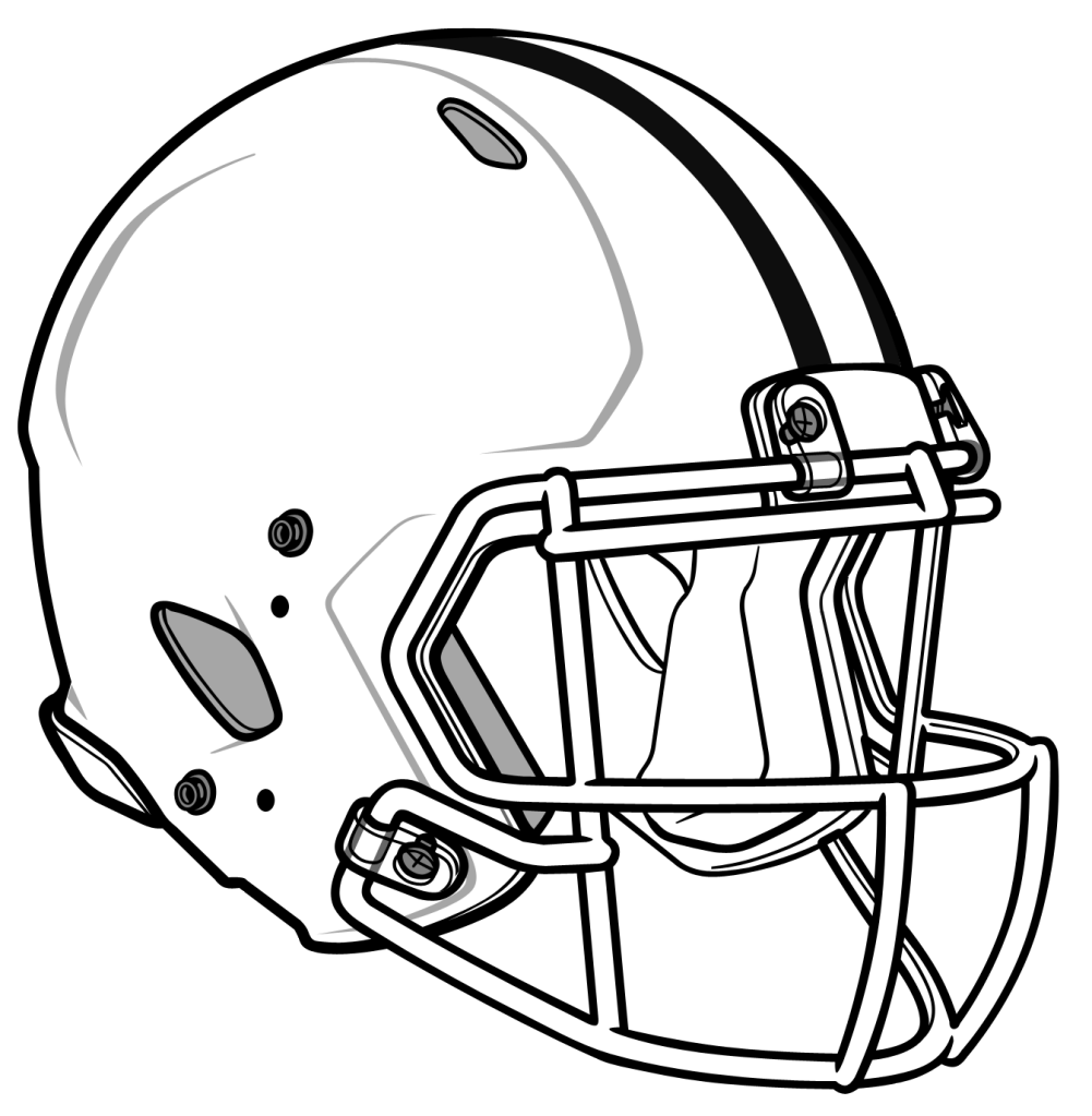 49ers drawing coloring page. Collection of helmet